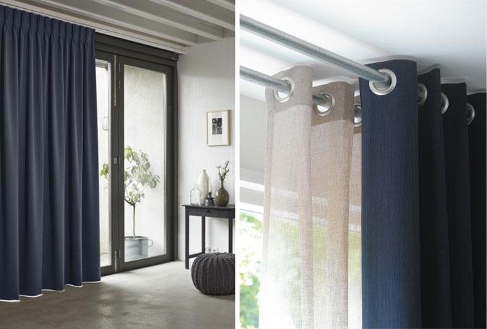 gordijnen geven sfeer aan ieder interieur maar de afwerking van een gordijn type plooi en de manier van ophangen zijn heel bepalend voor het uiteindelijk
