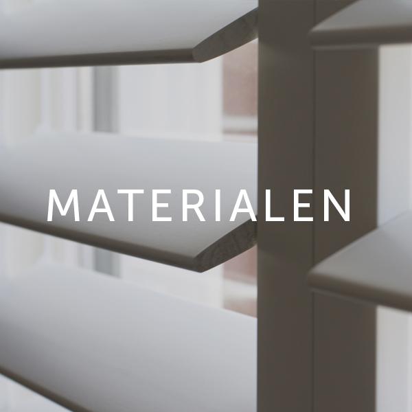 Home made by shutters materialen
